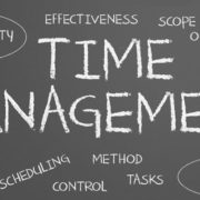 Time management as self-management.